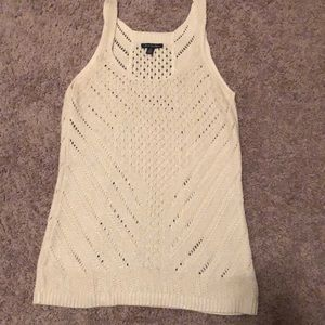 American Eagle Shimmer Knit Tank
